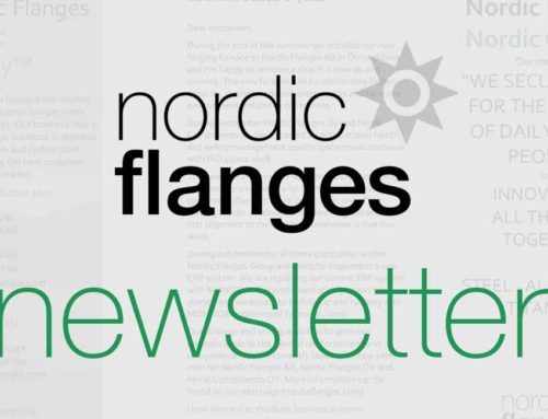 Nordic Flanges Group Newsletter 2018-10-08