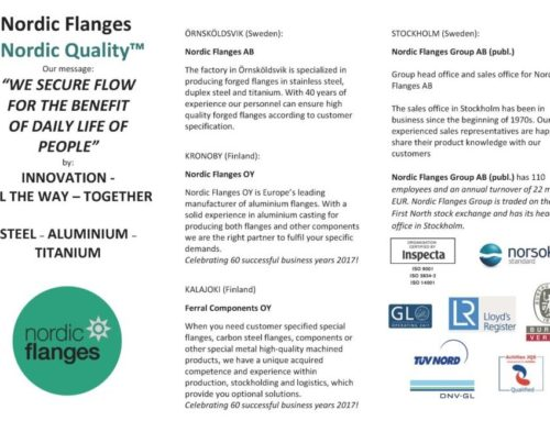 Nordic Flanges Group – who we are!