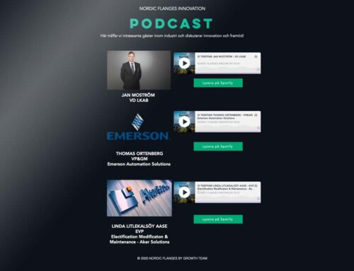 Nordic Flanges Innovation Podcast