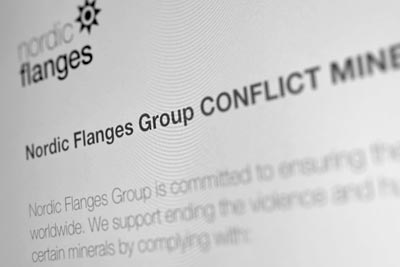 Nordic Flanges Group CONFLICT MINERALS POLICY