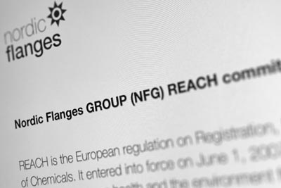 Nordic Flanges-GROUP_(NFG) REACH commitment